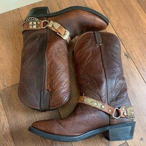 Laredo mens vintage boots size 9EE GUC
